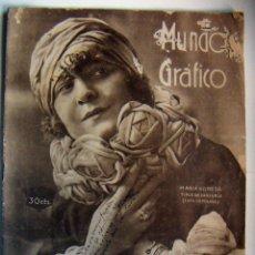 Coleccionismo de Revistas y Periódicos: REVISTA MUNDO GRÁFICO Nº 617 AGOSTO 1923. Lote 103516947