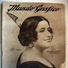 Coleccionismo de Revistas y Periódicos: REVISTA MUNDO GRAFICO Nº 576 NOVIEMBRE 1922. Lote 103520591