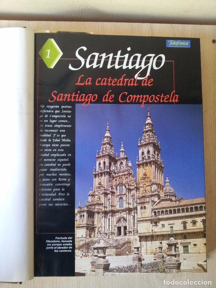 Coleccionismo de Revistas y Periódicos: GUIA DE LA ESPAÑA ENCANTADA - 82 FASCICULOS ENCUADERNADOS, COLECCION COMPLETA - PRENSA ESPAÑOLA ABC - Foto 2 - 103656039