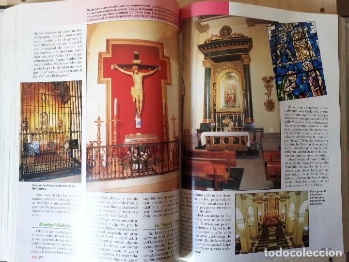 Coleccionismo de Revistas y Periódicos: GUIA DE LA ESPAÑA ENCANTADA - 82 FASCICULOS ENCUADERNADOS, COLECCION COMPLETA - PRENSA ESPAÑOLA ABC - Foto 3 - 103656039