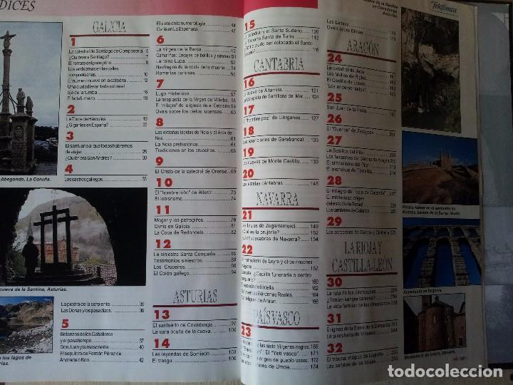 Coleccionismo de Revistas y Periódicos: GUIA DE LA ESPAÑA ENCANTADA - 82 FASCICULOS ENCUADERNADOS, COLECCION COMPLETA - PRENSA ESPAÑOLA ABC - Foto 5 - 103656039