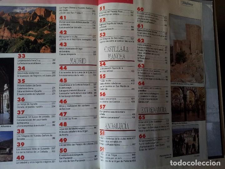Coleccionismo de Revistas y Periódicos: GUIA DE LA ESPAÑA ENCANTADA - 82 FASCICULOS ENCUADERNADOS, COLECCION COMPLETA - PRENSA ESPAÑOLA ABC - Foto 6 - 103656039