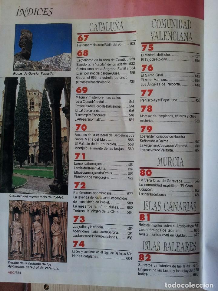 Coleccionismo de Revistas y Periódicos: GUIA DE LA ESPAÑA ENCANTADA - 82 FASCICULOS ENCUADERNADOS, COLECCION COMPLETA - PRENSA ESPAÑOLA ABC - Foto 7 - 103656039