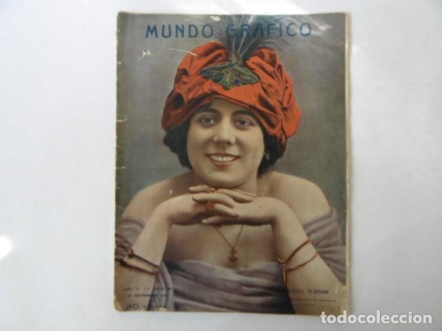 REVISTA DE ACTUALIDAD MUNDO GRAFICO, MUY ILUSTRADA, 1912, (Coleccionismo - Revistas y Periódicos Antiguos (hasta 1.939))