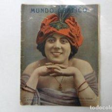 Coleccionismo de Revistas y Periódicos: REVISTA DE ACTUALIDAD MUNDO GRAFICO, MUY ILUSTRADA, 1912, . Lote 103658611