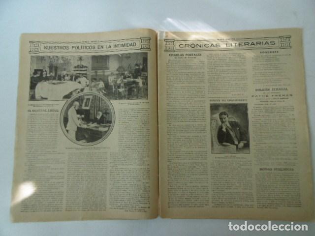 Coleccionismo de Revistas y Periódicos: revista de actualidad mundo grafico, muy ilustrada, 1912, - Foto 2 - 103658611