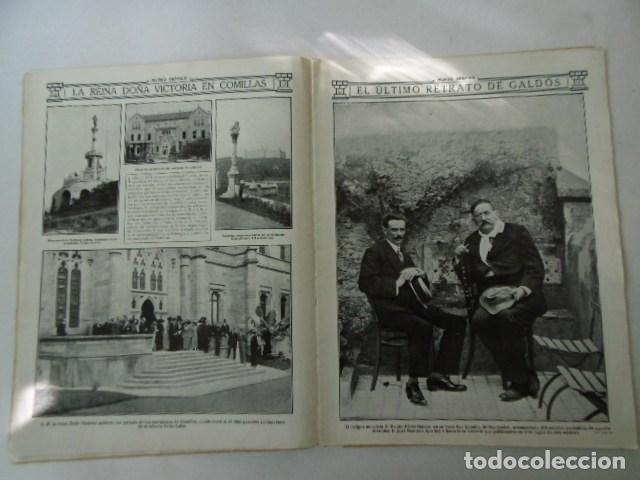 Coleccionismo de Revistas y Periódicos: revista de actualidad mundo grafico, muy ilustrada, 1912, - Foto 3 - 103658611