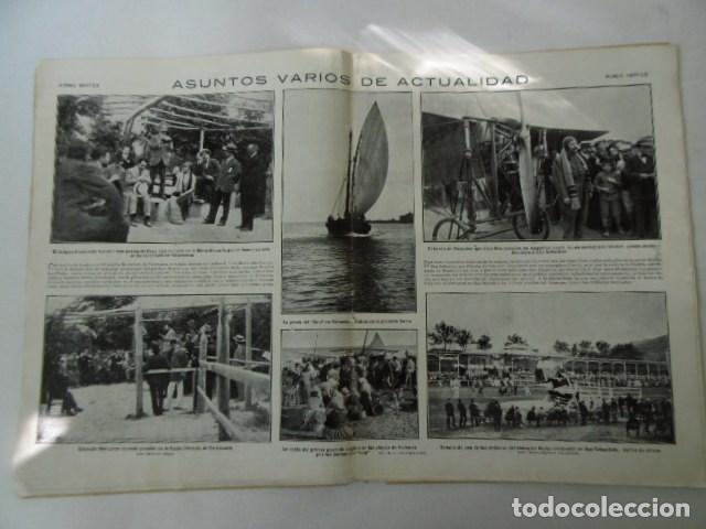 Coleccionismo de Revistas y Periódicos: revista de actualidad mundo grafico, muy ilustrada, 1912, - Foto 4 - 103658611