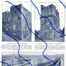 Coleccionismo de Revistas y Periódicos: TARRAGONA 1910 RAMBLA HOJA REVISTA. Lote 103701003