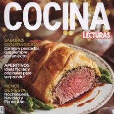 Coleccionismo de Revistas y Periódicos: LECTURAS COCINA N. 113 - EN PORTADA: ESPECIAL NAVIDAD (NUEVA). Lote 103703471