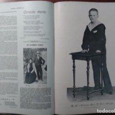 Coleccionismo de Revistas y Periódicos: REVISTA ARTISTICA Y LITERARIA BRASIL PORTUGAL 11 NUMEROS AÑO 1901. Lote 103724567