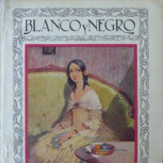 Coleccionismo de Revistas y Periódicos: BLANCO Y NEGRO. REVISTA ILUSTRADA (1ª ETAPA). 23 SEPTIEMBRE 1928. Nº 1949. Lote 103873419