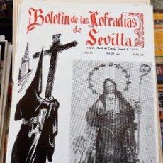 Collezionismo di Riviste e Giornali: SEMANA SANTA SEVILLA, BOLETIN CONSEJO HERMANDADES Y COFRADIAS, Nº 128, MAYO 1970. Lote 157174850