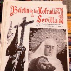 Collezionismo di Riviste e Giornali: SEMANA SANTA SEVILLA, BOLETIN CONSEJO HERMANDADES Y COFRADIAS, Nº 134, NOVIEMBRE 1970. Lote 104077039