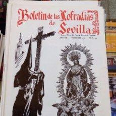 Collezionismo di Riviste e Giornali: SEMANA SANTA SEVILLA, BOLETIN CONSEJO HERMANDADES Y COFRADIAS, Nº 135, DICIEMBRE 1970. Lote 104077123