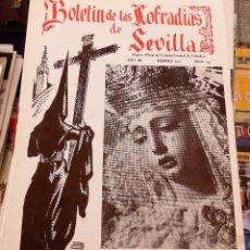Collezionismo di Riviste e Giornali: SEMANA SANTA SEVILLA, BOLETIN CONSEJO HERMANDADES Y COFRADIAS, Nº 137, FEBRERO 1971. Lote 104077447