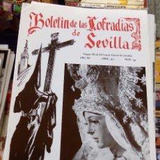 Collezionismo di Riviste e Giornali: SEMANA SANTA SEVILLA, BOLETIN CONSEJO HERMANDADES Y COFRADIAS, Nº 139, ABRIL 1971. Lote 104077883