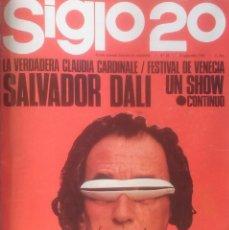 Coleccionismo de Revistas y Periódicos: SIGLO 20 - LOTE 8 REVISTAS ENCUADERNADAS (1965) SALVADOR DALI N°S 16 AL 22 VER FOTOGRAFIAS CONTENIDO. Lote 104188259