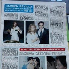 Coleccionismo de Revistas y Periódicos: CARMEN SEVILLA PAUL NASCHY. Lote 244624845