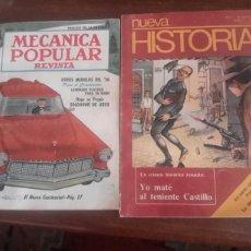 Coleccionismo de Revistas y Periódicos: REVISTA ANTIGUAS UNA DE 1956 Y OTRA DE 1977. Lote 104282720