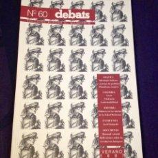 Coleccionismo de Revistas y Periódicos: DEBATS NO. 60. REVISTA CULTURAL 1997. Lote 104326935