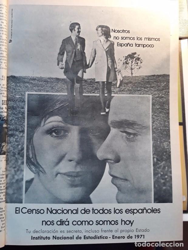 EL CENSO NACIONAL 1971 INSTITUTO NACIONAL DE ESTADISTICA (Coleccionismo - Revistas y Periódicos Modernos (a partir de 1.940) - Otros)