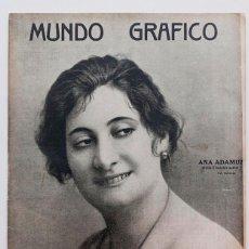Coleccionismo de Revistas y Periódicos: REVISTA MUNDO GRAFICO Nº 560. Lote 104403751