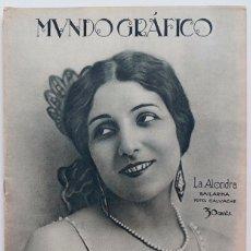 Coleccionismo de Revistas y Periódicos: REVISTA MUNDO GRAFICO Nº 674. Lote 104404063