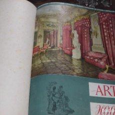 Coleccionismo de Revistas y Periódicos: REVISTA ARTE HOGAR, Nº 1 AL 11, 1943-44 (DICIEMBRE A DICIEMBRE). Lote 104429583