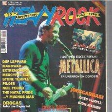 Coleccionismo de Revistas y Periódicos: HEAVY ROCK 158. Lote 104430523