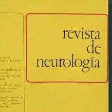 Coleccionismo de Revistas y Periódicos: REVISTA DE NEUROLOGÍA. AÑO XI, VOL. XI, NUM. 48, ENERO-FEBRERO 1983. Lote 104671519