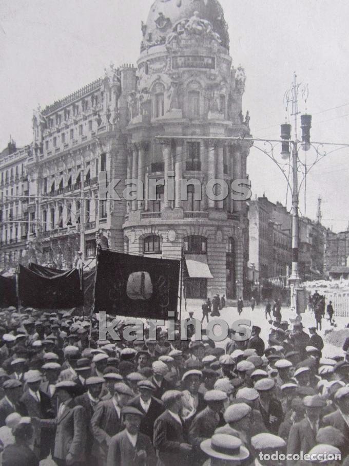 1914 Madrid Fiesta Del Trabajo Calle Alcala Santa Cruz De La Palma Y Risco De La Concepcion 1608
