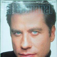 Coleccionismo de Revistas y Periódicos: EL SUPLEMENTO SEMANAL 465 1996 JOHN TRAVOLTA, CANDELA PEÑAA, MICHAEL JACKSON, JOHN GRISHAM, ITZEA.... Lote 104761979