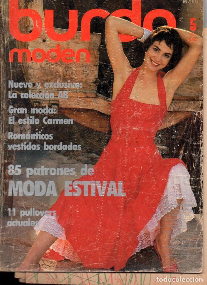 BURDA MODEN, MARZO 1985. TEXTO EN ALEMÁN. INCLUYE LOS PATRONES (Coleccionismo - Revistas y Periódicos Modernos (a partir de 1.940) - Otros)