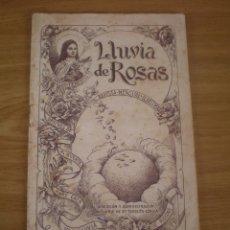 Coleccionismo de Revistas y Periódicos: REVISTA RELIGIOSA, LLUVIA DE ROSAS, SANTA TERESITA, LERIDA, 1942. Lote 104837167