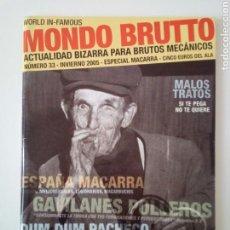 Coleccionismo de Revistas y Periódicos: MONDO BRUTTO # 33. Lote 104887075