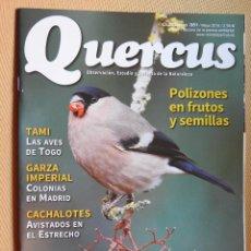 Coleccionismo de Revistas y Periódicos: REVISTA QUERCUS CUADERNO 351 MAYO 2015. TAMI, LAS AVES DE TOGO, GARZA IMPERIAL, CACHALOTE.... Lote 104889771
