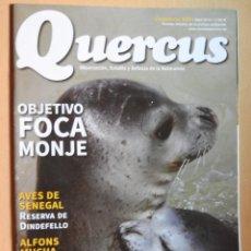 Coleccionismo de Revistas y Periódicos: REVISTA QUERCUS CUADERNO 338 ABRIL 2014. FOCA MONJE, AVES DE SENEGAL, CUEVAS SUBMARINAS.... Lote 104890295