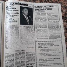 Coleccionismo de Revistas y Periódicos: VICENTE CALDERON . Lote 104913419