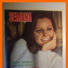 Coleccionismo de Revistas y Periódicos: SEMANA Nº 1547 - 11 OCTUBRE 1969 - ROCÍO DURCAL, LUCIA BOSE, MARIA JOSE GOYANES, JANE FONDA, RAPHAEL. Lote 104984195