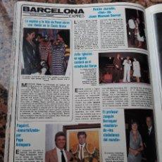 Coleccionismo de Revistas y Periódicos: ROCIO JURADO JOAN MANUEL SERRAT PERET JULIO IGLESIAS PAQUIRRI. Lote 104993635