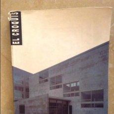 Coleccionismo de Revistas y Periódicos: REVISTA ARQUITECTURA EL CROQUIS 55 / 56. Lote 105041331