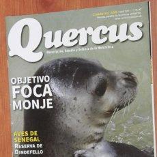 Coleccionismo de Revistas y Periódicos: REVISTA QUERCUS - CUADERNO 338 - ABRIL 2014 FOCA MONJE, AVES DE SENEGAL, ALFONS MUCHA. Lote 105049531
