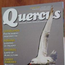 Coleccionismo de Revistas y Periódicos: REVISTA QUERCUS - CUADERNO 340 - JUNIO 2014 GAVIOTA DE AUDOUIN, DOÑANA, CAPRELIDOS, CARDO MARIANO. Lote 105049855