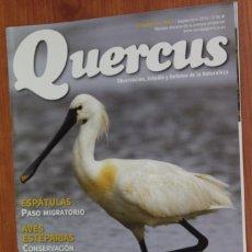 Coleccionismo de Revistas y Periódicos: REVISTA QUERCUS - CUADERNO 343 - SEPTIEMBRE 2014 DOÑANA, ESPATULA, GUACAMAYO, AVES ANDALUCIA. Lote 105050163