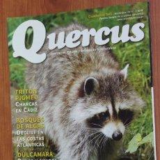 Coleccionismo de Revistas y Periódicos: REVISTA QUERCUS - CUADERNO 345 - NOVIEMBRE 2014 ESPECIES INVASORAS, TRITON PIGMEO, MURCIELAGOS. Lote 105050343