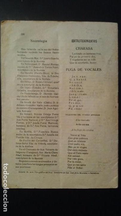 Coleccionismo de Revistas y Periódicos: REVISTA SEMANAL ILUSTRADA - LA MONTAÑA DE SAN JOSE - Nº13 - BARCELONA JULIO DE 1921 - Foto 2 - 105068847