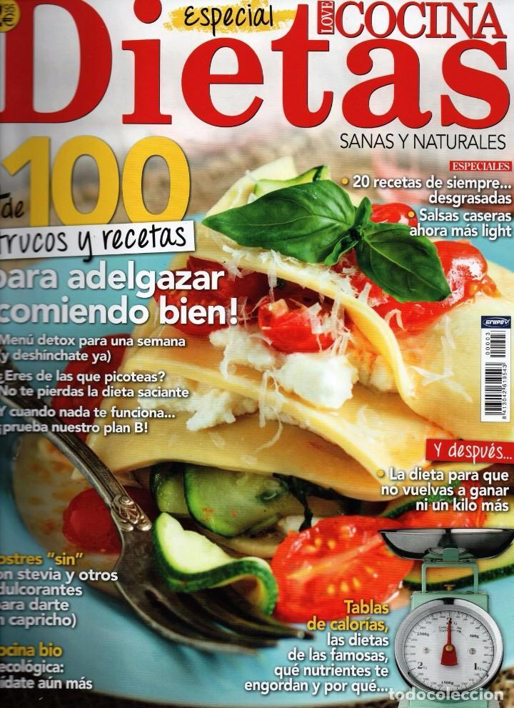 love cocina especial n. 3 - dietas (nueva) - Comprar Otras revistas ...