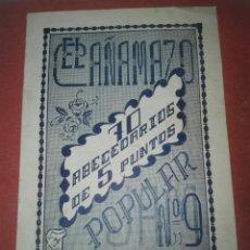 Coleccionismo de Revistas y Periódicos: LOTE DE REVISTAS DE LABORES VARIADAS. AÑOS 50-60.. Lote 105238103