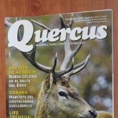Coleccionismo de Revistas y Periódicos: REVISTA QUERCUS - CUADERNO 355 - SEPTIEMBRE 2015 HERBIVOROS, DOÑANA, LIFE TREMEDAL, GAVIOTA. Lote 105302203